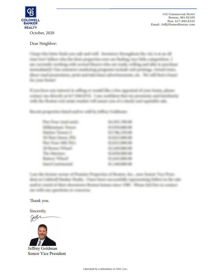coldwell-banker-letter-blurred printing services